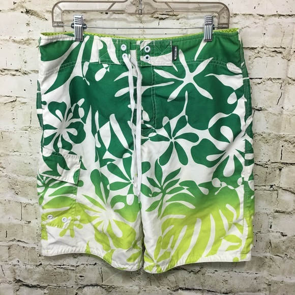 Mossimo Other - Mossimo Hawaiian Print Board Shorts